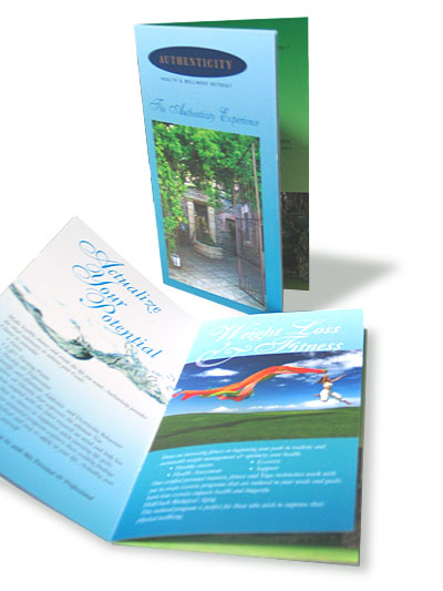 Authenticity Health & Wellness Retreat Brochure
