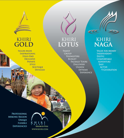 Advertisement design Khiri Travel, 2008