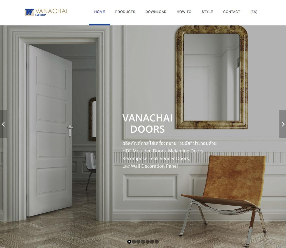 Vanachai Products © Pixel Planet Design