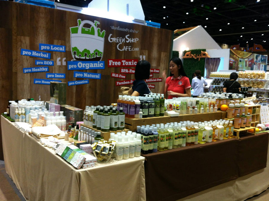 Event & Display supply Organic Expo booth design and setup for