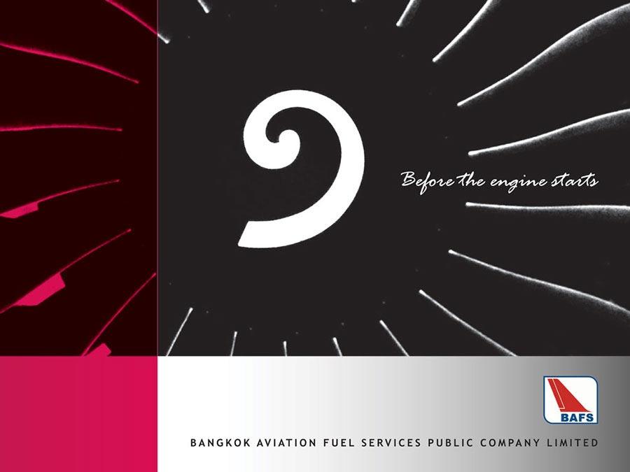 BAFS company brochure © Pixel Planet Design