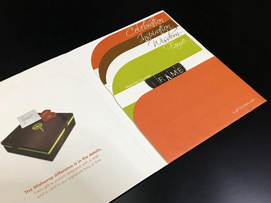 Colorful branding press kit © Pixel Planet Design