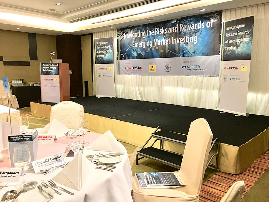 Private group conference event in Bangkok © Pixel Planet Design