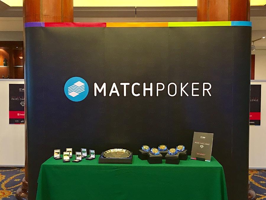 International Matchpoker challenge event 2018 © Pixel Planet Design