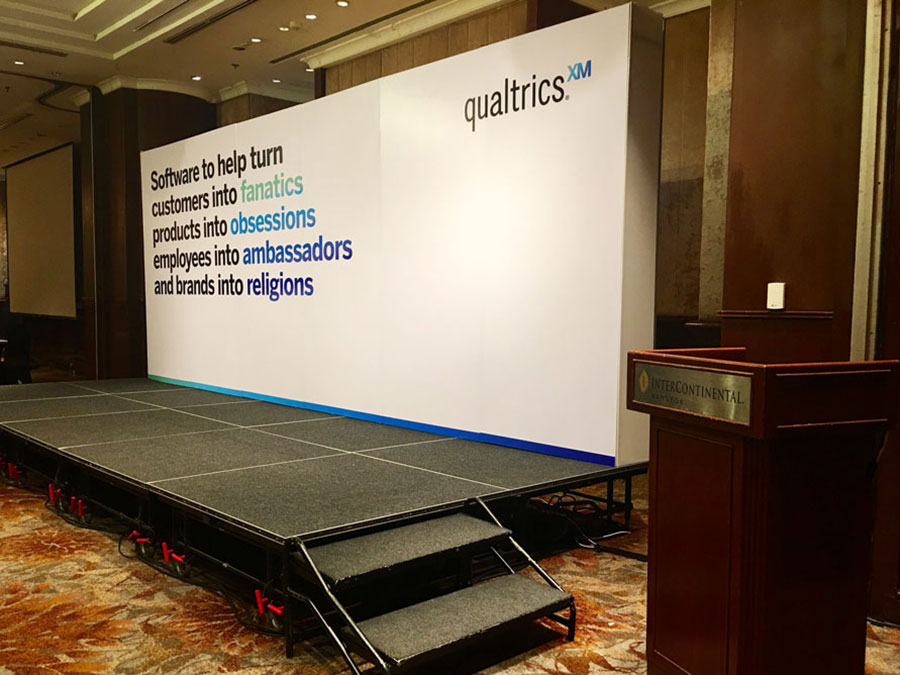 Stage backdrop small conference room © Pixel Planet Design