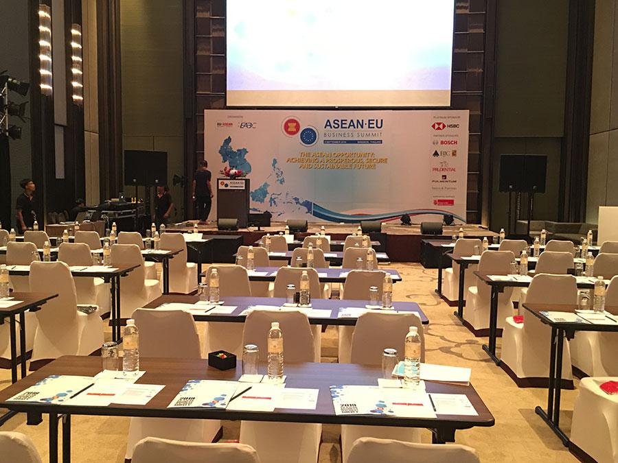 International conference display © Pixel Planet Design