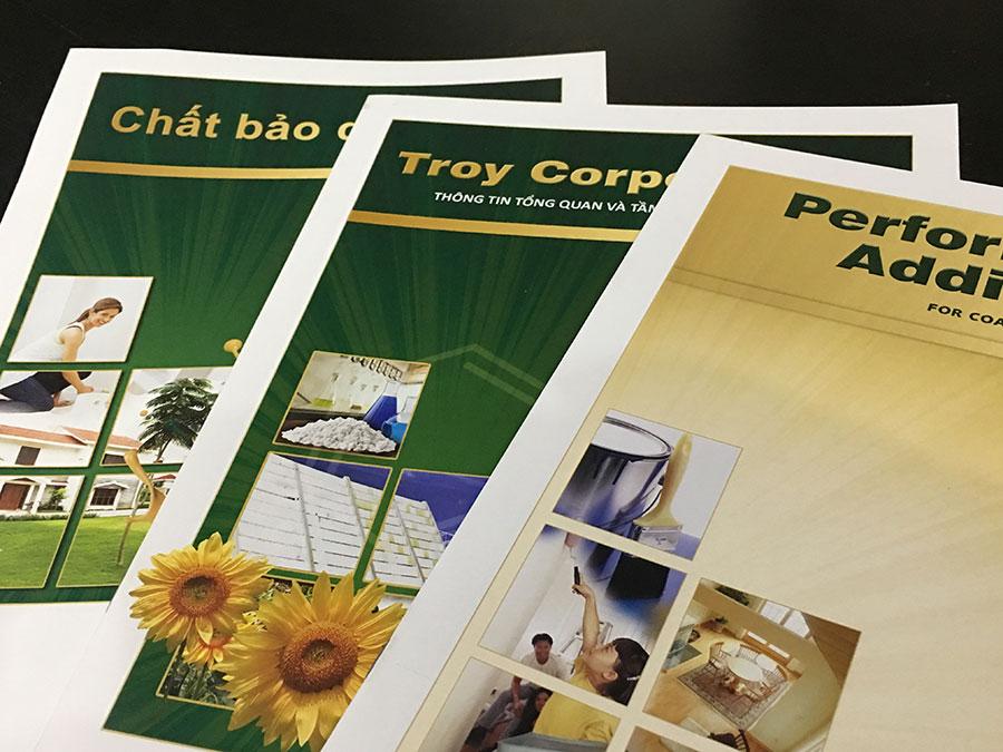 Corporate brochure © Pixel Planet Design
