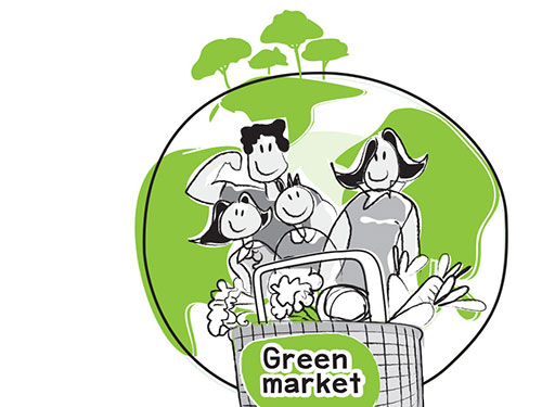 Thai Green Market © Pixel Planet Design