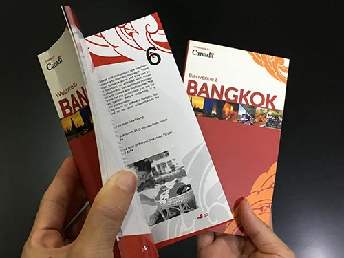 Bangkok pocket guide © Pixel Planet Design